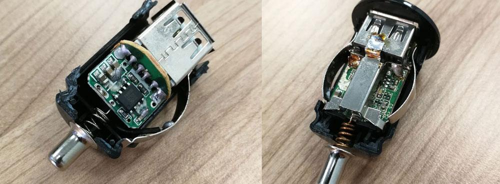Porównanie ładowarek samochodowych – UNITEK vs tania ładowarka 2xUSB