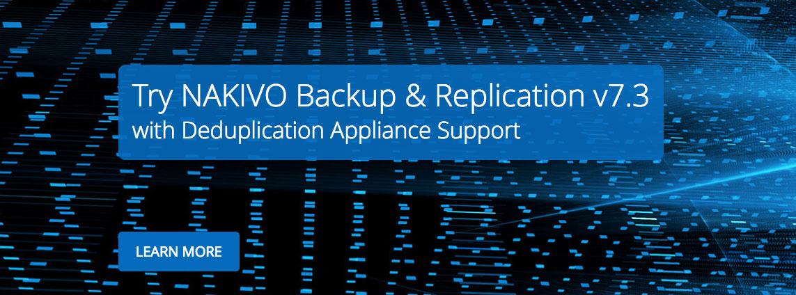NAKIVO Backup & Replication v7.3 już dostępne!
