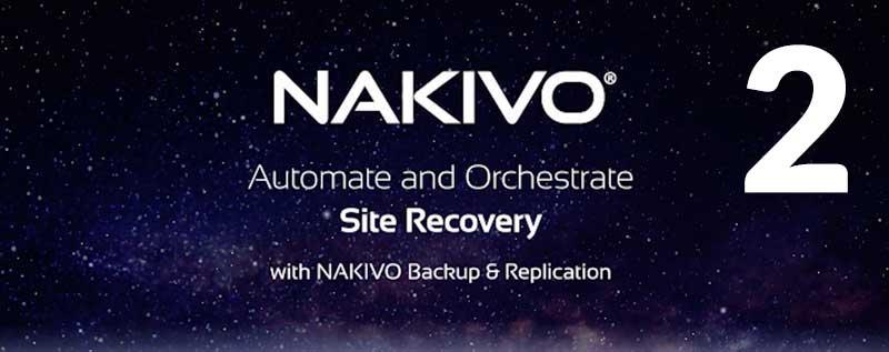 Site Recovery w NAKIVO Backup&Replication Część 2: Przygotowanie infrastruktury