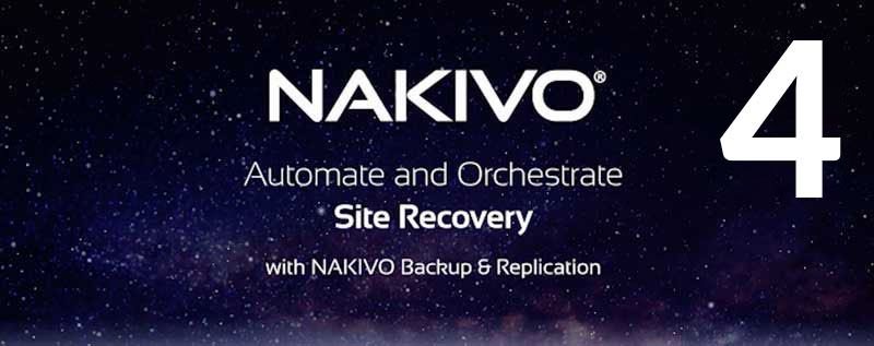 Site Recovery w NAKIVO Backup & Replication Część 4: Przeprowadzanie testowania odzyskiwania witryny
