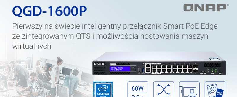 QNAP prezentuje QGD-1600P