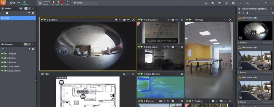 QNAP jako wszechstronny i nowoczesny system monitoringu IP