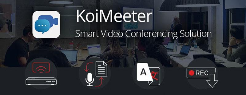QNAP prezentuje inteligentny system telekonferencyjny KoiMeeter