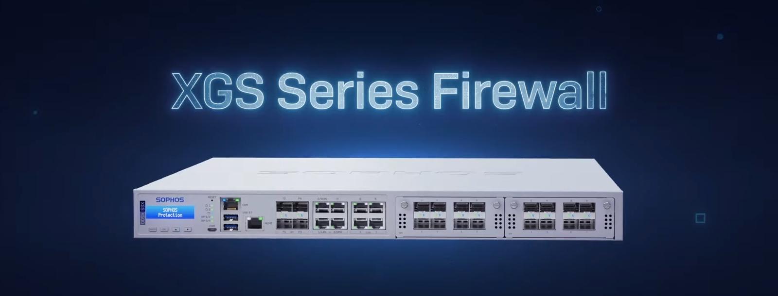 Sophos wprowadza nowe urządzenia Firewall XGS Series analizujące dane szyfrowane protokołem TLS